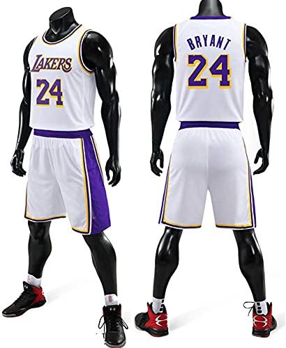 CPBY Ropa de baloncesto # 11,30,24 Swing para hombre, camisetas, chalecos y pantalones cortos, tallas de la XXXL, G - L
