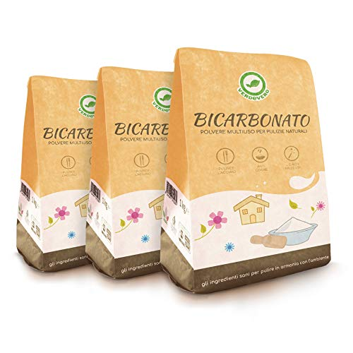 Verdevero BICARBONATO di Sodio - Pack da 3 kg