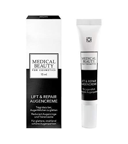 MEDICAL BEAUTY® Anti Falten Augenpflege | intensiv regenerierend und glättend | hocheffektiv gegen Falten