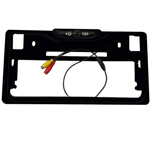 BOOMBOOST Japanese License Plate Frame Reversing Camera Car Rear View Camera Reversing For Car Parking Assistance