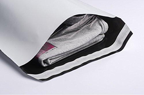 100 Folienmailer® Versandbeutel 250 x 350 mm : Blickdichte und sehr stabile Plastik Versandtaschen aus 0,075 mm starker Coex LDPE-Folie