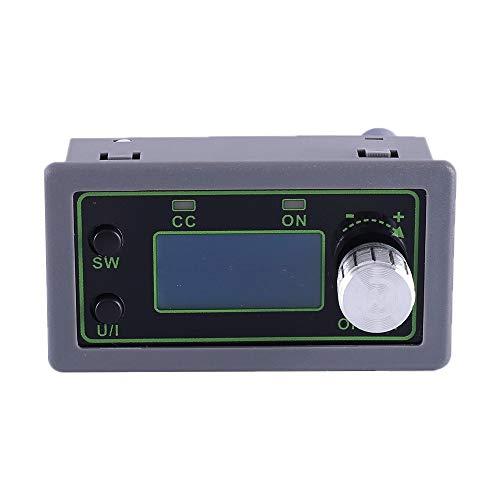 DC Buck Boost Netzteilmodul, DC-DC 50V 5A LCD Einstellbares Step Down Modul Spannungsregler Wandler LCD Display Spannungsüberwachung