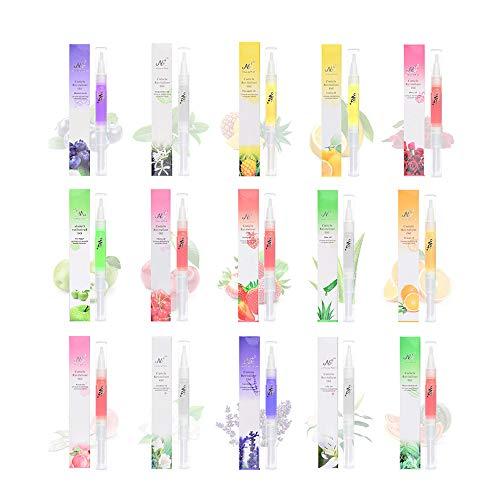15PCS Nail Nutrition Oil Pen Anself Cuticle Remover Pen Nail Art Cuticle Repairing Oil Pen Nail Art Treatment Manicure