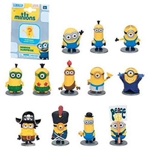 Unbekannt 10x Surprise Pack Minions Sammelfiguren Minions Minifiguren im Blindbag