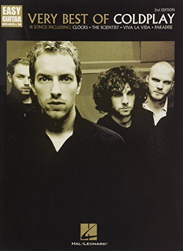 Very Best of Coldplay - 2nd Edition (Easy Guitar With Notes & Tab)