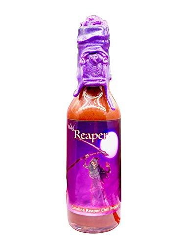 Wicked Reaper Reserve World's Hottest Chili Pepper Carolina Reaper Hot Sauce (Purple)