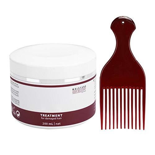 Mascarilla para el cabello, acondicionador profundo y mascarilla nutritiva para el cabello con cuero cabelludo relajante, funciones hidratantes, refrescantes y de control de aceite.(200ml)