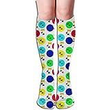 xinfub Unisex Socken für Hundeleckerlis und Pfotenabdrücke, bequem, bequem, für Laufen, Sportsport, Flugreisen 1876