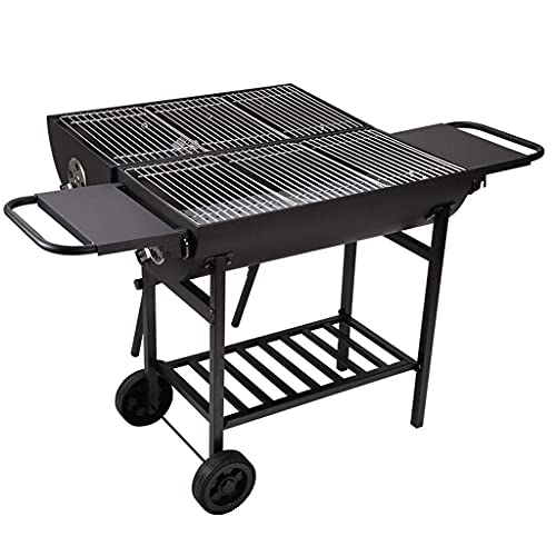 ZWWZ Barbecue Grill Household 5 or More Barbecue Pits Garden Charcoal Barbecue Camping Barbecue Shelf BBQ Grill MISU