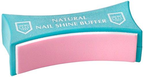 Microcell Natural Nail Shine Buffer Nagelpflege, 1 Stück