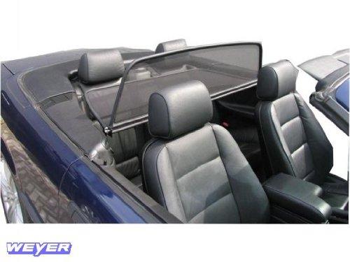 Weyer 1054A Passform Basic Line Windschott passend für BMW 3-Serie E36 Cabrio (Elektrisches Dach)