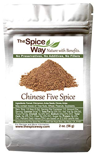 The Spice Way Chinese Five Spice Seasoning - Traditional Powder Blend 2 oz