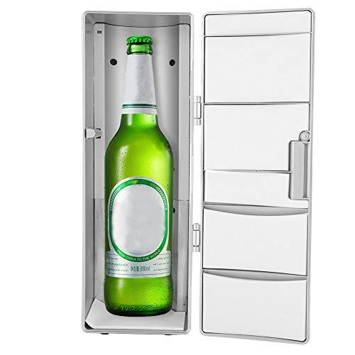 USB Mini Cooler & Warmer, tragbare Dosen Bier Getränke Cola Kühlschrank, Outdoor Drink Heat Warmer/Kühler Gefrierschrank Kühlschrank für Home Office Auto Boot
