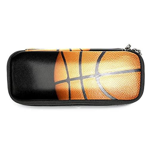 Estuche para lápices Estuche para lápices Estuche para oficina Almacenamiento grande Organizador de alta capacidad deportes de baloncesto de la NBA para niños niñas estuche para lápices