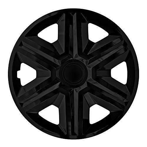 4x Radblenden 14 Zoll schwarz Action NRM, Radkappen 4er Set 14″ Radzierblenden