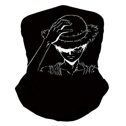 Dacitiery Anime One Piece Bandanas, Stirnband Gesichtsschutz Hals Gamasche(Style 05)
