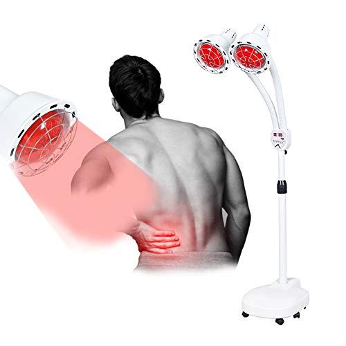 MOye 275W Infrarot-Wärmestrahler, Infrarotlampe zur Behandlung von Erkältungen und Muskelverspannungen