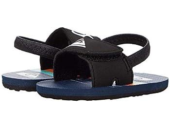 Quiksilver Baby Boys Slide Sandal Blue/Blue/Blue Molokai Layback Infant 4