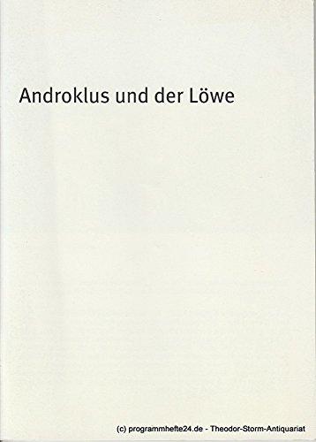 Programmheft Androklus und der Löwe. Spielzeit 2006/2007 Heft 85