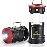 Extremus Blaze 360 Camping Lantern and Camping Lights, LED Rechargeable Lantern with Battery, 4 Light Modes, IP44 Waterproof Rating, Two Power Source Options, Ideal for Camping, Hunting