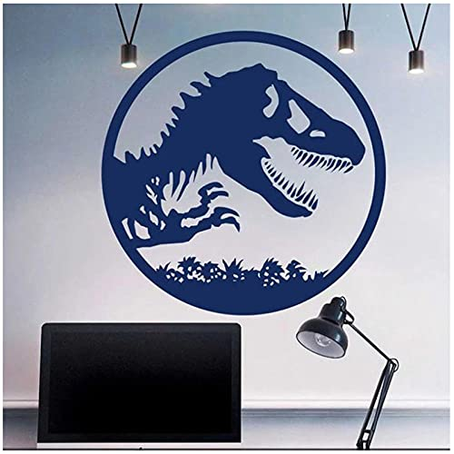 aksldf Jurassic Dinosaur World, calcomanía de vinilo para pared, decoración del hogar para habitación de niños, adolescentes,...