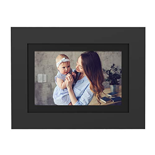 PhotoShare Friends and Family Smart Frame 8' Digital Photo Frame, Send Pics from Phone to Frame,...
