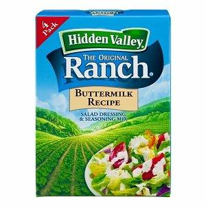 Hidden Valley Salad Dressing Max 53% OFF Milwaukee Mall Seasoning Ranch Original Mix But