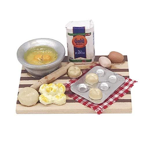 Zeagro 1:12 Escala casa de muñecas Miniatura Accesorios de Cocina Muebles de Alimentos Casa de Muñecas Juguete