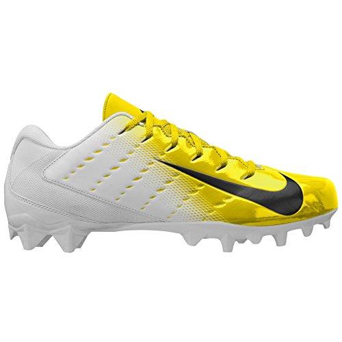 Nike Men's Vapor Untouchable Varsity 3 TD Football Cleats (12 D) Yellow