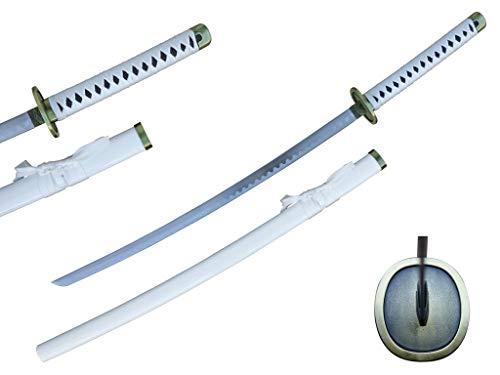 KinStore Anime One a Piece Roronoa Zoro/Death Surgeon Trafalgar Law/Luffy Katana Samurai Sword Kitetsu/Shusui/Wado Ichimonji/Yubashiri/Enma/Yama (Choose Your Style) (Wado Ichimonji)