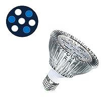加湿器クリーナーフィッシュ 海洋水族館LEDランプ21W LED植物成長ライト白青ランプPAR30フルスペクトラムサンゴ水槽水族館SPS LPS (Color : 7E)