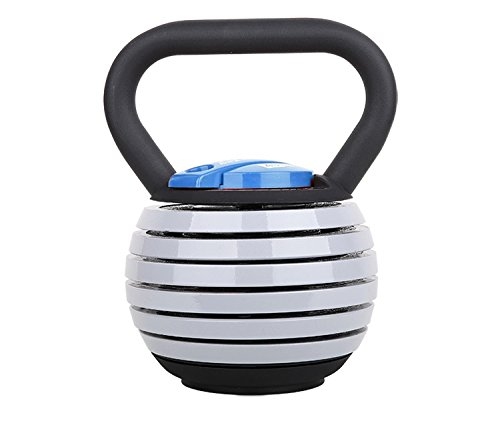Rock Solid Wholesale 5-20 lb Adjustable Kettlebell Weight Lifting Swing Workout