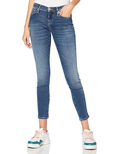 True Religion Damen Halle Jeans, Deep Blue, 24