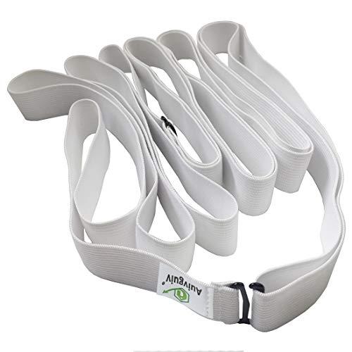 Auivguiv Bed Sheet Fastener Set- Premium Bed Sheet Holders to Keep Sheets Tight - Bed Band- Best Hidden Bed Sheet Suspenders, Kids, Bedding Sets (White)