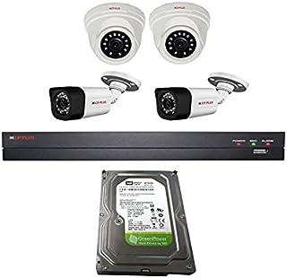 Camera CpPlus Indoor/Outdoor 2 Megapixel 1080P with DVR 4 Channels
