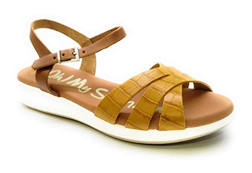 Oh! my Sandals 4660 Piel Coco Mostaza