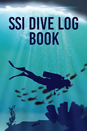SSI Dive Log Book: Scuba Diving Log Book, ssi divelog, dive log water proof book, Perfect traveler mini size 6x9' Track & Record 100+ Dives