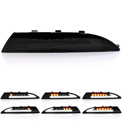 2 x LED Blinker Frontblinker dynamische Laufblinker mit Standlicht-Funktion Plug&Play E-Prüfzeichen
