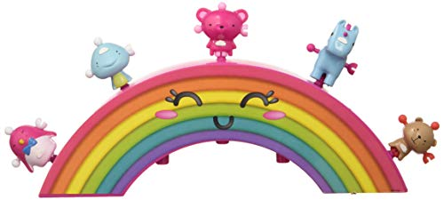 ZIWIES - Arco Iris, con 5 figuritas coleccionables, para niños y niñas de 4 a 8 años (Famosa 700014800)