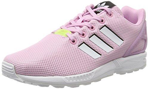 adidas Unisex Zx Flux Laufschuhe, Mehrfarbig (Frost Pink F14/ftwr White/FTWR White), 38 2/3 EU