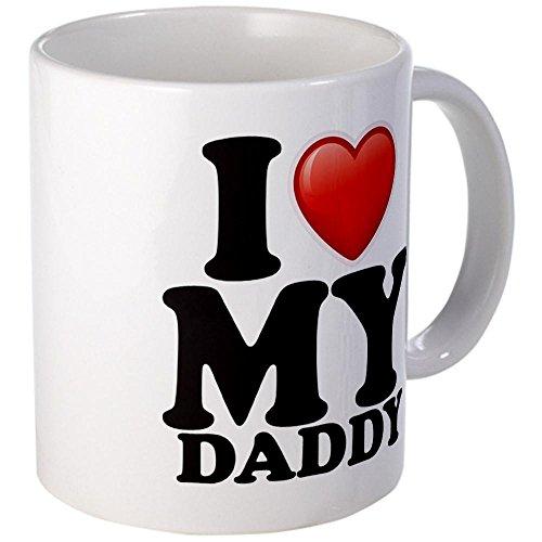 Mug (Coffee Drink Cup) I Love My Daddy Dad Father Heart