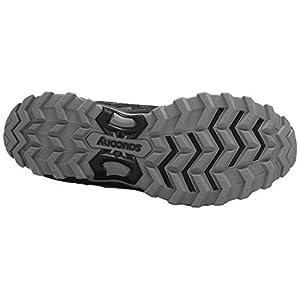 Saucony Men's Excursion TR11 Running Shoe, Black/Blue, 11.5 Medium US
