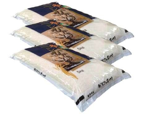 新潟県産 白米 コシヒカリ15kg(5kg×3袋) 令和3年産