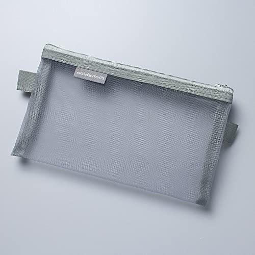 YiXing Estuche transparente de malla para lápices, bolsa de nailon con capacidad para lápices, para regalo, suministros de oficina, papel creativo (color 333)