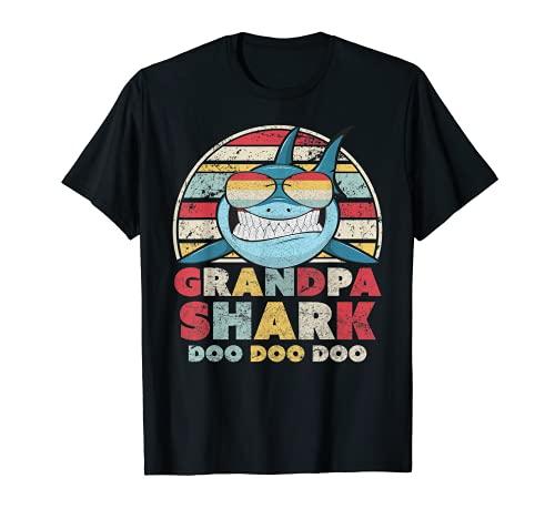 Grandpa Shark Shirt, Gift For Grandad T-Shirt