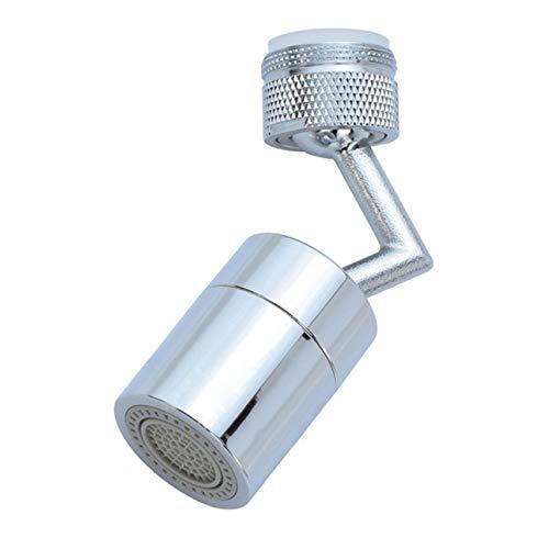 Ba30DEllylelly Grifo de filtro de salpicaduras Universal de 720 grados, cabezal de astilla, filtro antisalpicaduras, grifo, boquilla de ahorro de agua, rociador