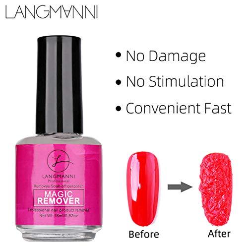 UV Gel Removedor mágico de esmalte de uñas