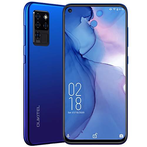 OUKITEL C21 Smartphone ohne vertrag Helio P60 Handy ohne vertrag günstig 20MP AI Vordere Kamera 20MP+16MP 4-Augen-Kamera 6,4 Zoll 4GB +64GB 4000 mAh Dual-4G-SIM Free Android Handy EIN Jahr Garantie
