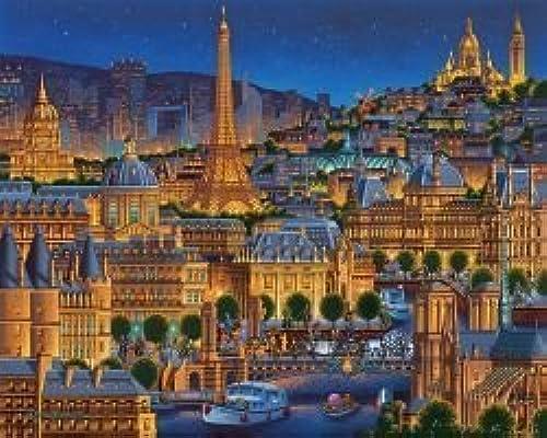 hasta un 65% de descuento Dowdle Paris City of Lights 1000 Piece Piece Piece Puzzle by Dowdle Folk Art  mejor precio