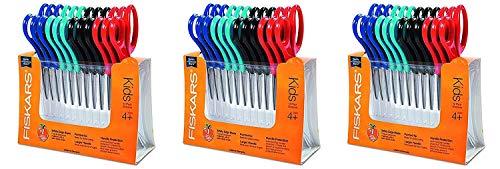 Amazing Deal Fiskars 95037197J Pointed-tip Kids Scissors 5 Inch, (3 X Pack of 12)